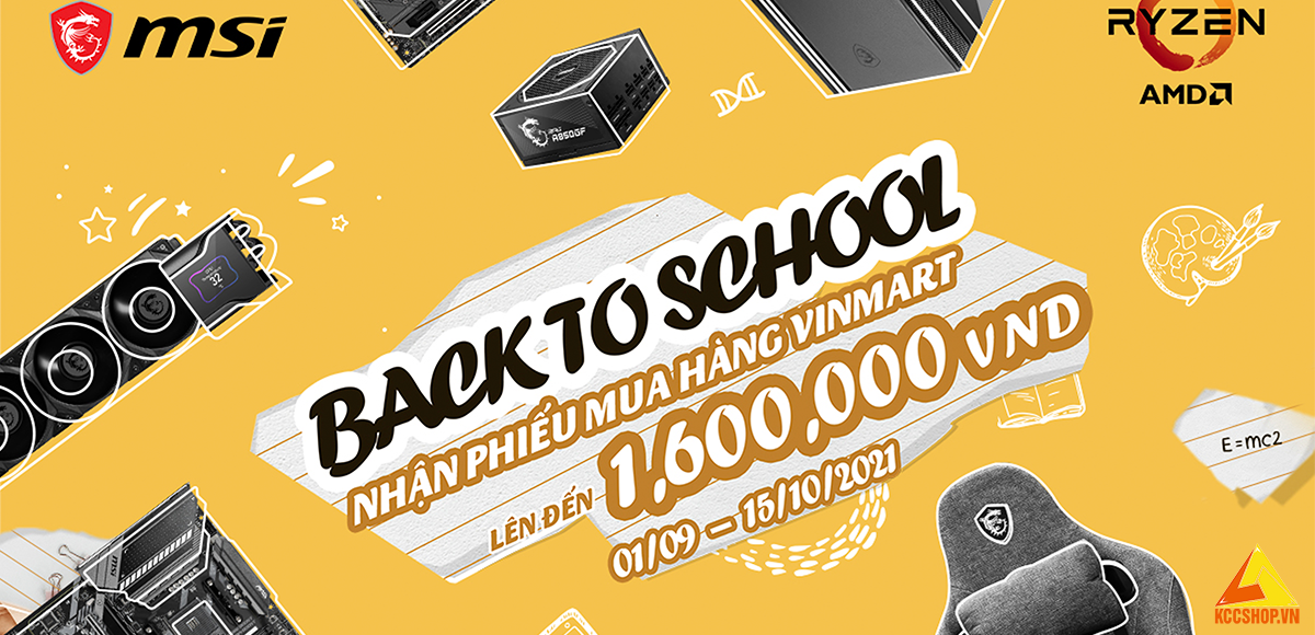 MSI Promotion   Back To School 1.9 - 15.10.201